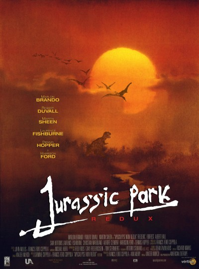 Jurassic Park + Apocalipse Now