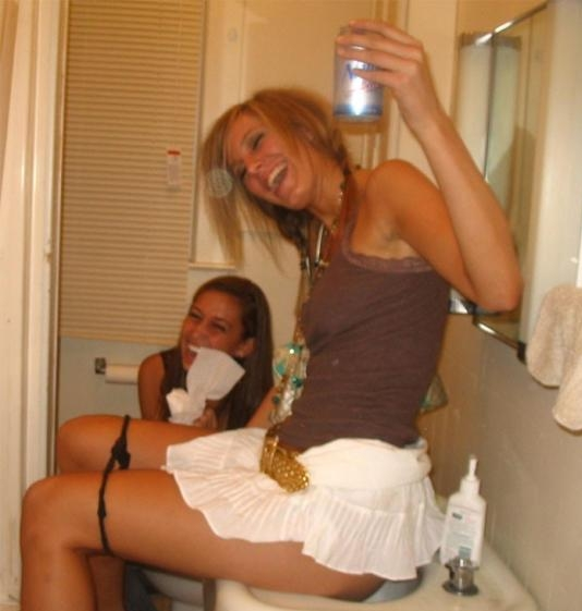Mulheres bêbadas, o paraíso.